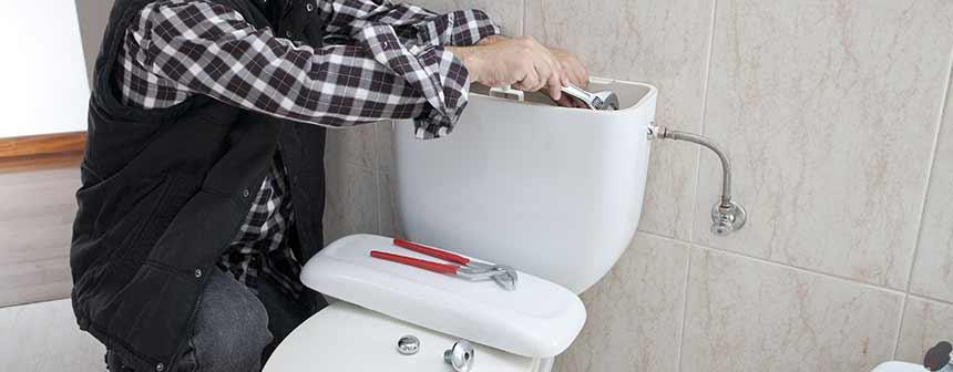 toilet renoveren